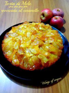 Torta di mele al caramello- wings of sugar blog