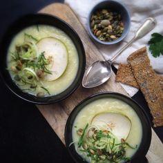 Vanløse blues.....: Selleri Porre suppe