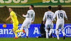 Real five adrift after defeat by Villarreal