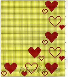 Cross Stitch Heart, Cross Stitch Borders, Cross Stitch Alphabet, Cross Stitch Flowers, Cross Stitch Designs, Cross Stitching, Cross Stitch Embroidery, Cross Stitch Patterns, Crochet Alphabet