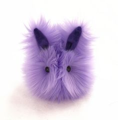 Pansy the Lavender Easter Bunny Rabbit Stuffed Animal Plush Toy - 4x5 Inches Small Size on Etsy, $23.95