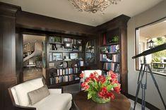 La Jolla Luxury Library Robeson Design