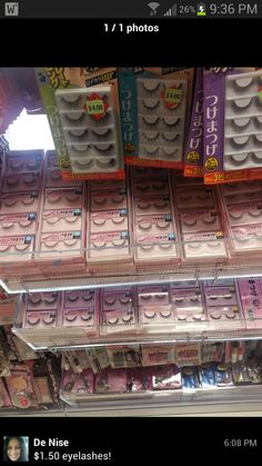 """Photo of Daiso Japan Artesia - """"Meant for table and chair legs to prevent scratches and such, but also works as little socks/booties for dogs!"""" - Artesia, CA Fake Eyelashes, False Lashes, Daiso Japan, Musashi, Kawaii Shop, Beauty Products, 1, Shops, Tents"""