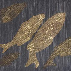 Snakeskin leather effect decorative painwork by Marat Ka Studio.