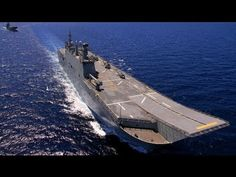 ▶ ★ LHD Juan Carlos I 2013 ★ BUQUE DE GUERRA MAS VERSATIL DEL MUNDO ★ - YouTube. Similar to design chosen for Royal Australian Navy.