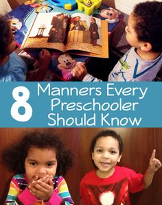 Teaching manners to children is important especially before starting preschool. It's our responsibility as parents to teach kids proper manners. Manners Preschool, Preschool Behavior, Manners For Kids, Teaching Manners, Preschool Education, Preschool Kindergarten, Preschool Activities, Teaching Kids, Kids Learning