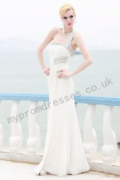 Elegant One Shoulder Fashion Actress Party Dress For Women - Evening Dresses  - Special Occasions d023fef1037f