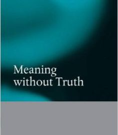 Meaning Without Truth PDF