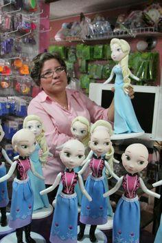Pasta Flexible Lulu Mendoza: Muñecas de gran formato