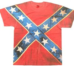Southern Sisters Designs - All Over Rebel Flag T Shirt, $20.95 (http://www.southernsistersdesigns.com/all-over-print-mens-rebel-flag-t-shirt/)
