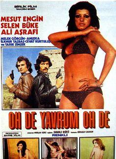 fırçana bayıldım boyacı - Film Cool Posters, Film Posters, Film Movie, Movies, Films, Erotica, Nostalgia, Swimwear, Photography