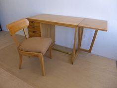 #Edward #Wormley #Drop #Leaf #Writing #Desk #Midcentury #Modern #Vintage #Design #Furniture #DenMøbler