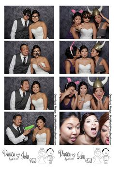Wedgewood Wedding & Banquet Center photo booth http://www.madmochiphotobooth.com