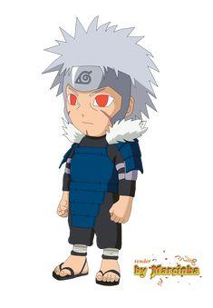 Chibi tobirama by Naruto Sasuke Sakura, Naruto Uzumaki Shippuden, Naruto Cute, Anime Chibi, Kawaii Anime, Naruto Sketch, Naruto Drawings, Chibi Naruto Characters, Super Anime