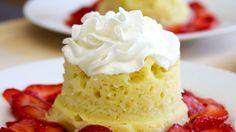 Make a Surprisingly Moist Sponge Cake in the Microwave