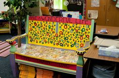 Get to painting! Every classroom needs a friendship bench. Do your students have some issues between each other? Before running straight to the teacher, train them to immediately go to the friendship bench and work things out!