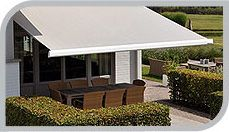 ECLIPSE PREMIER MOTORIZED RETRACTABLE AWNING  Ideal for roof mounting, and perfect for residential or commercial use, the Eclipse Premier is the upgrade of the Eclipse model. Although it features greater projection depths and wider measurements, it still maintains its sleek lines and elegant appearance.