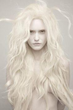 White blonde wig- ice queen