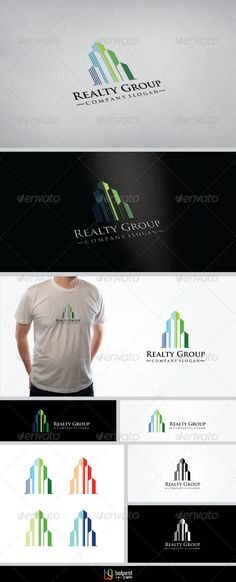 Realty Group Logo Template