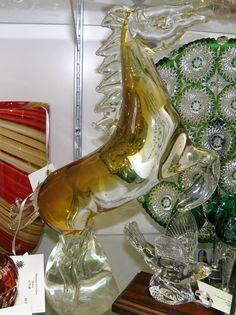 Murano Art Glass Horse  $175