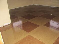 brown craft paper floors