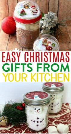 Making Christmas gifts from your kitchen is not only fun, but it's  often an economical way to give someone a special gift.  #christmas #diychristmas #holidays #diyholidayideas  #diychristmasideas #diychristmasdecor #diychristmasgiftideas #christmascrafts  #christmaskidcrafts #diygiftideas #christmasdiy #christmascrafts  #diychristmasideas