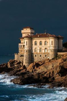 Boccale Castle in Tuscany, Italy