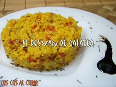 EL DESVAN DE GALATEA CUSCUS AL CURRY http://eldesvandegalatea.blogspot.com.es/2013/02/cuscus-al-curry.html