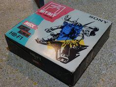 ORDENADOR MSX2 SONY HOME COMPUTER HB-F1 msx