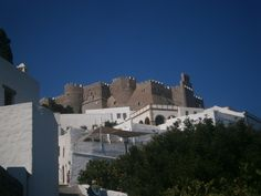 Patmos town in Patmos island, Greece Places Ive Been, Greece, Louvre, Island, Country, World, City, Building, Pictures