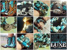 cowgirl jewelry ---> www.etsy.com/shop/amandalynneLUXE