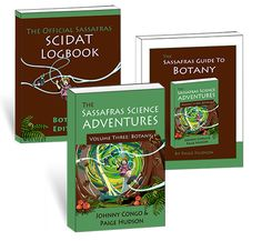 The Sassafras Science Adventures Volume 3 Printed Combo – elementalscience.com