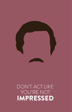 Anchorman: The Legend of Ron Burgundy (2004) ~ Movie Quote Poster by Hayley Lane…