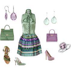 """Soft Summer Light - lavender"" by adriana-cizikova on Polyvore"
