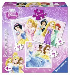 Not suitable for children under 36 months. Have fun making all 3 beautiful jigsaw puzzles featuring 3 of your favourite Disney Princess characters. Puzzle Store, Disney Princess Characters, Ravensburger Puzzle, Age 3, Toy Store, Your Favorite, Jigsaw Puzzles, Have Fun, Toys