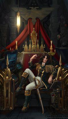 Character Concept, Character Art, Character Design, Warhammer 40k Rpg, Navy Admiral, Battlefleet Gothic, Rogue Traders, Dark Eldar, Game Workshop