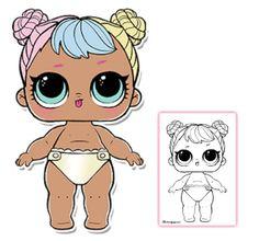Color your favorite LOL Surprise Doll!