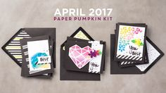"VIDEO 2017 April Paper Pumpkin Sara Douglass! Unbox April's ""A Sara Thing"" kit with Sara herself, get step-by-step instructions, and receive expert tips and tricks to get the most out of this vibrant kit!"