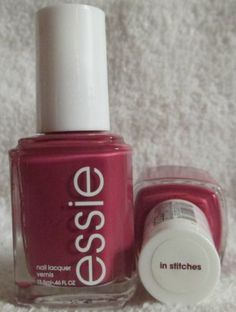Essie Nail Polish In Stitches #608 Pink Mauve Nail Lacquer Nail Art Manicure