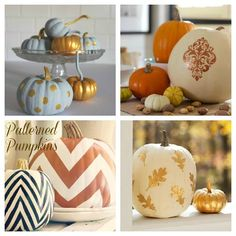 {The Classy Woman} Happy Harvest: Pretty Pumpkins