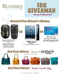 blue bird pictures is having a giveaway! Awesome opportunity