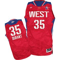 da6f8024e33 Adidas NBA 35 Kevin Durant All Star 2013 Swingman Western Conference  Basketball Jersey Griffin Nba