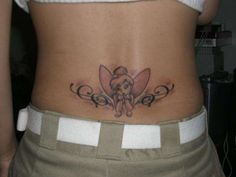 tinkerbell tattoo designs | Tinkerbell And Cute Fairy Tattoos Designs Art Pictures Images Photos