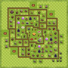 War Base Town Hall Level  By Matthew Curley Th Layout Clash Of Clans