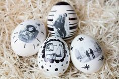 Photo eggs - make your own Easter eggs - Sabrina kühn Fotoeier - außergewöhnliche Ostereier selber gestalten Photos on eggs, that should work? I'll show you how you can make the most extraordinary Easter eggs yourself. Easter Art, Easter Crafts For Kids, Easter Eggs, Diy Gifts For Kids, Egg Designs, Diy School Supplies, Valentines Day Gifts For Him, Diy Crafts To Sell, Picnic