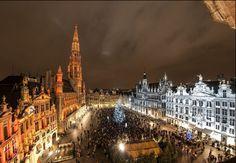 Winterpret Brussel, Brussel, België
