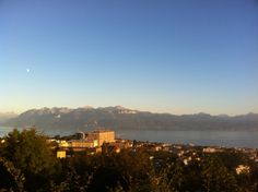 Lausanne is a beautiful hilly city with great views of the alps.