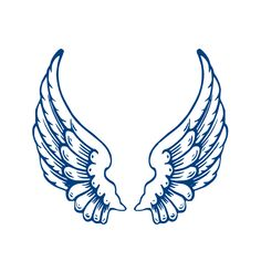 Clip Art Angel Wings Clip Art free vector peterm angel wings clip art pinterest template largeangelwings online royalty free