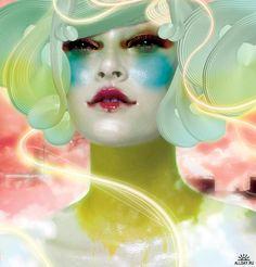 Lunar Goddess - Chen Man