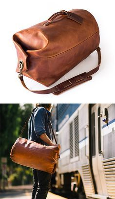 Whipping Post Military Duffle Bag - for him Leather Accessories, Fashion Accessories, Sac Week End, Leather Projects, Leather Men, Leather Bags, Leather Backpacks, Teen Backpacks, Leather Duffle Bag
